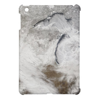 Cloud streets over Lake Superior and Lake Michi iPad Mini Cases