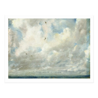 Cloud Study, 1821 (oil on paper laid down on board Postcard