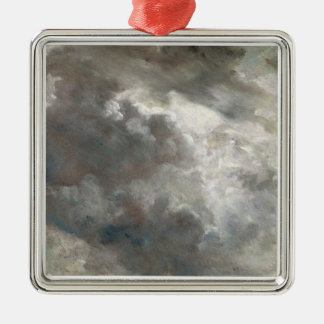 Cloud Study, 1821 (oil on paper laid down on paper Christmas Ornament
