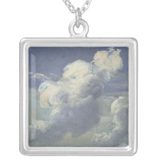 Cloud Study, 1832 Silver Plated Necklace