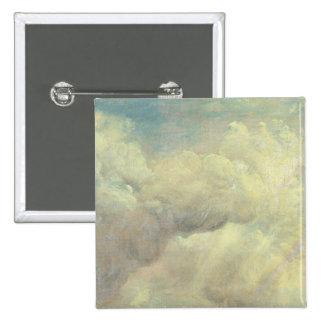 Cloud Study, c.1821 (oil on canvas) 15 Cm Square Badge