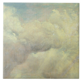 Cloud Study, c.1821 (oil on canvas) Tile