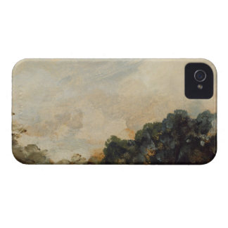 Cloud Study with Trees, 1821 (oil on paper laid do iPhone 4 Case