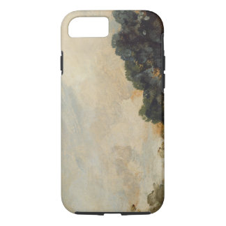 Cloud Study with Trees, 1821 (oil on paper laid do iPhone 8/7 Case