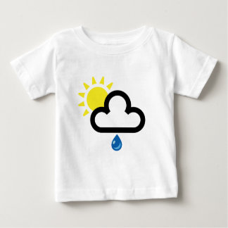 Cloud Sun Rain Symbol Baby T-Shirt