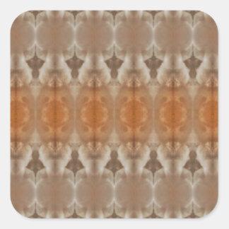 Cloud symmetry square stickers