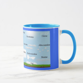 Cloud Types Mug