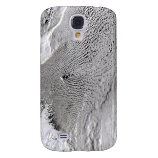 Cloud vortices off Jan Mayen Island Galaxy S4 Case