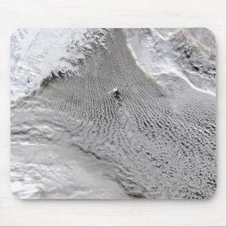 Cloud vortices off Jan Mayen Island Mousepads