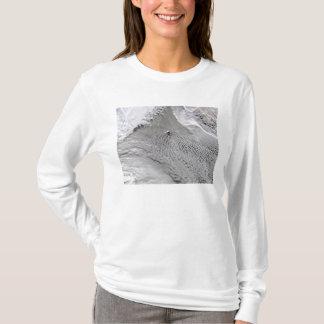 Cloud vortices off Jan Mayen Island T-Shirt
