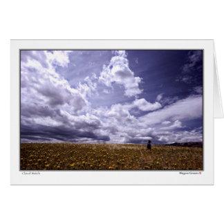 Cloud Watch - Northern California Greeting Card