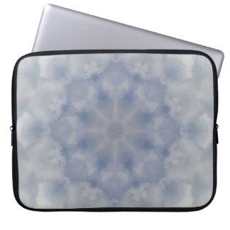 Cloudburst Mandala Notebook Sleeve