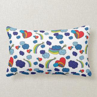 Cloude Pattern Lumbar Cushion