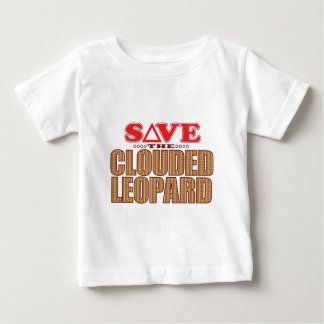 Clouded Leopard Save Baby T-Shirt