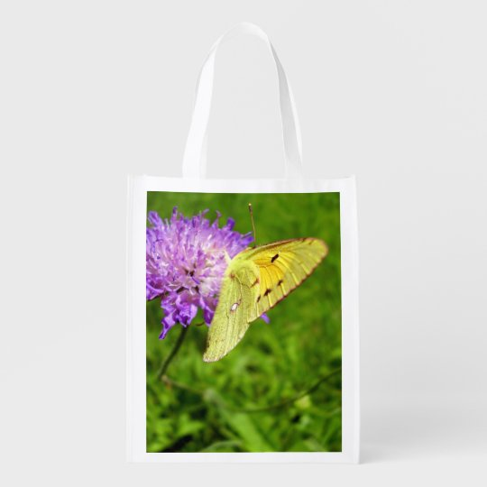 Clouded Yellow Butterfly Reusable Bag