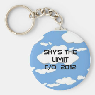 clouds-0010 SKY S THE LIMIT C O 2011 Key Chain