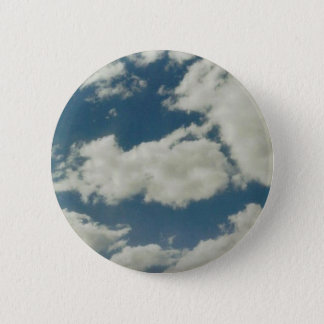 Clouds 6 Cm Round Badge