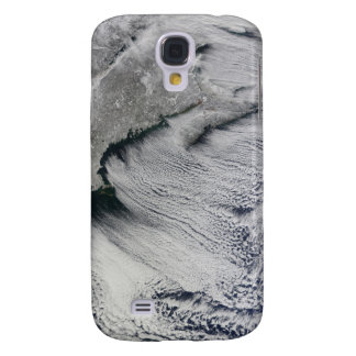 Clouds across the skies of the North Atlantic Galaxy S4 Case