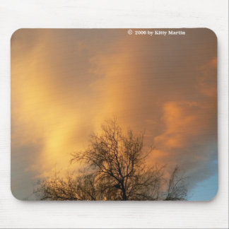 Clouds Afire! Mouse Pad