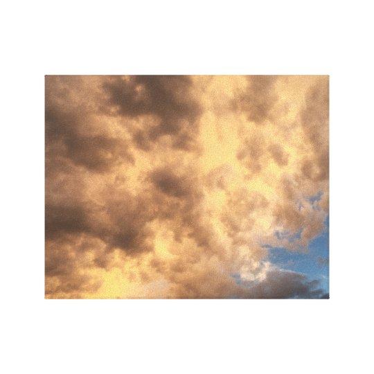 Clouds After A Storm Canvas Print