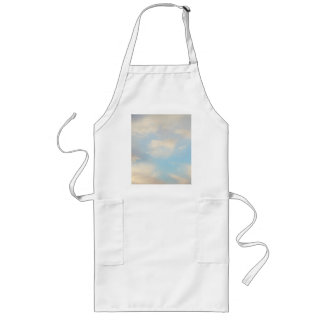 Clouds and Blue Sky Long Apron