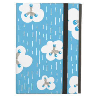 Clouds And Methane Molecules Blue Chemistry Geek Cover For iPad Air