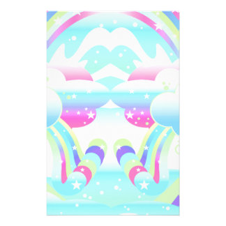 clouds and rainbow sky II Stationery