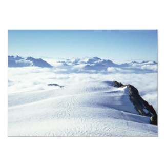 Clouds And Snow 13 Cm X 18 Cm Invitation Card