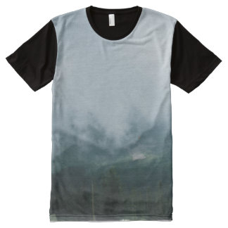 Clouds and Trees. All-Over Print T-Shirt