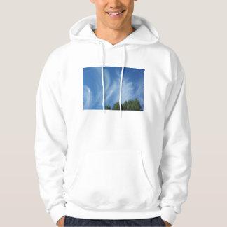 Clouds and trees hoodie