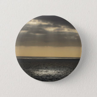Clouds at Sea 6 Cm Round Badge