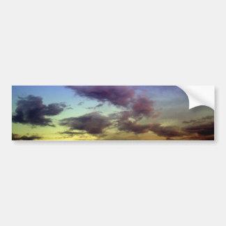Clouds at Sunset Bumper Sticker