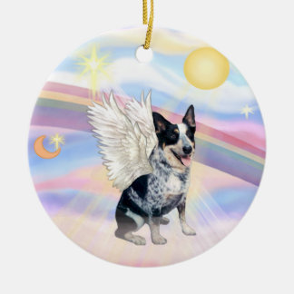 Clouds - Australian Cattle Dog Christmas Ornament
