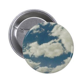 Clouds 6 Cm Round Badge
