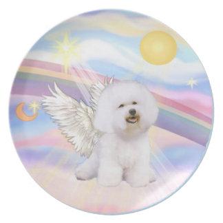 Clouds - Bichon Frise Angel (#1) Plate