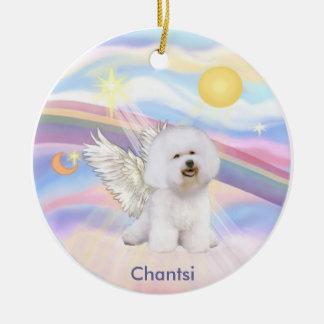 Clouds - Bichon Frise Angel Chantsi Christmas Ornament