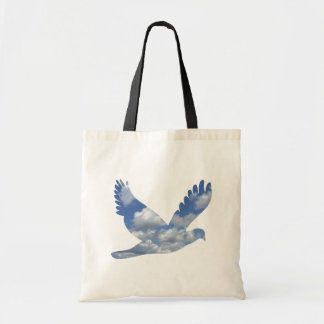 Clouds Bird Pattern Bag