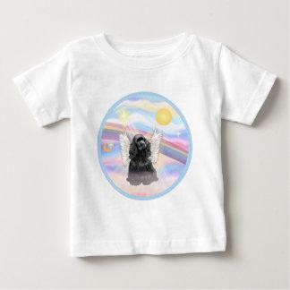Clouds - Black Cocker Spaniel Baby T-Shirt