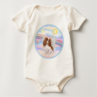 Clouds - Blenheim Cavalier Angel Baby Bodysuit