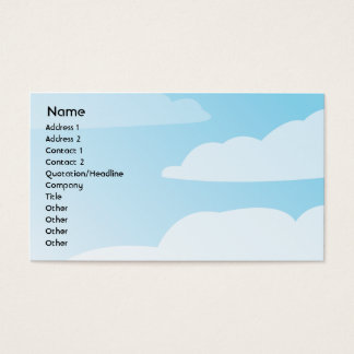 Clouds - Business Business Card