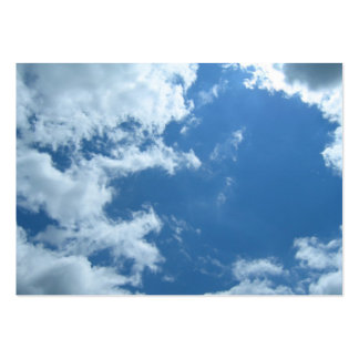 Clouds Large Business Cards (Pack Of 100)