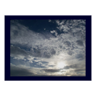 Clouds Captured Poster
