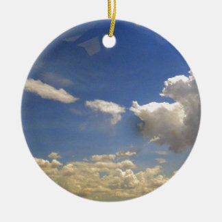 Clouds Christmas Ornament