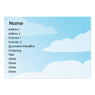 Clouds - Chubby Pack Of Chubby Business Cards