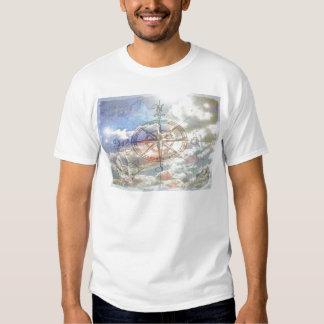 Clouds Compass T-shirt