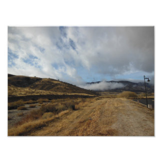 Clouds Converge Print Photo Print