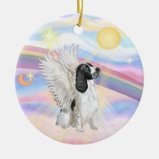 Clouds - English Springer Spaniel Christmas Ornament