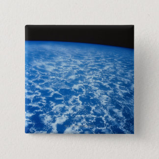 Clouds from Space 15 Cm Square Badge
