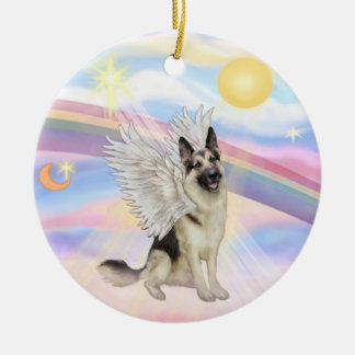Clouds - German Shepherd (#9) Christmas Ornament