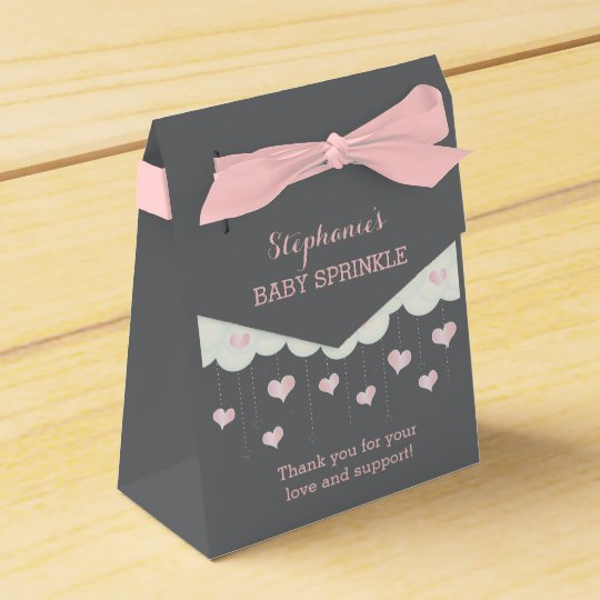 Clouds & Hearts Baby Sprinkle Shower Favour Bag